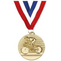 Target50 Cycling Medal with</br>AM1138R.01